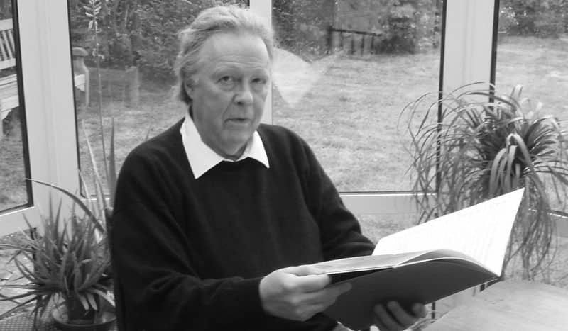 Composer Jonathan Rutherford